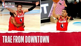 Trae Beats The Buzzer From Downtown!