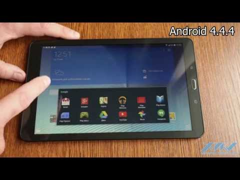 Видеообзор Samsung Galaxy Tab E 9.6 (XDRV.RU)