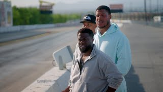 At the Drag Strip with Kevin Hart!   Kevin Hart's Muscle Car Crew