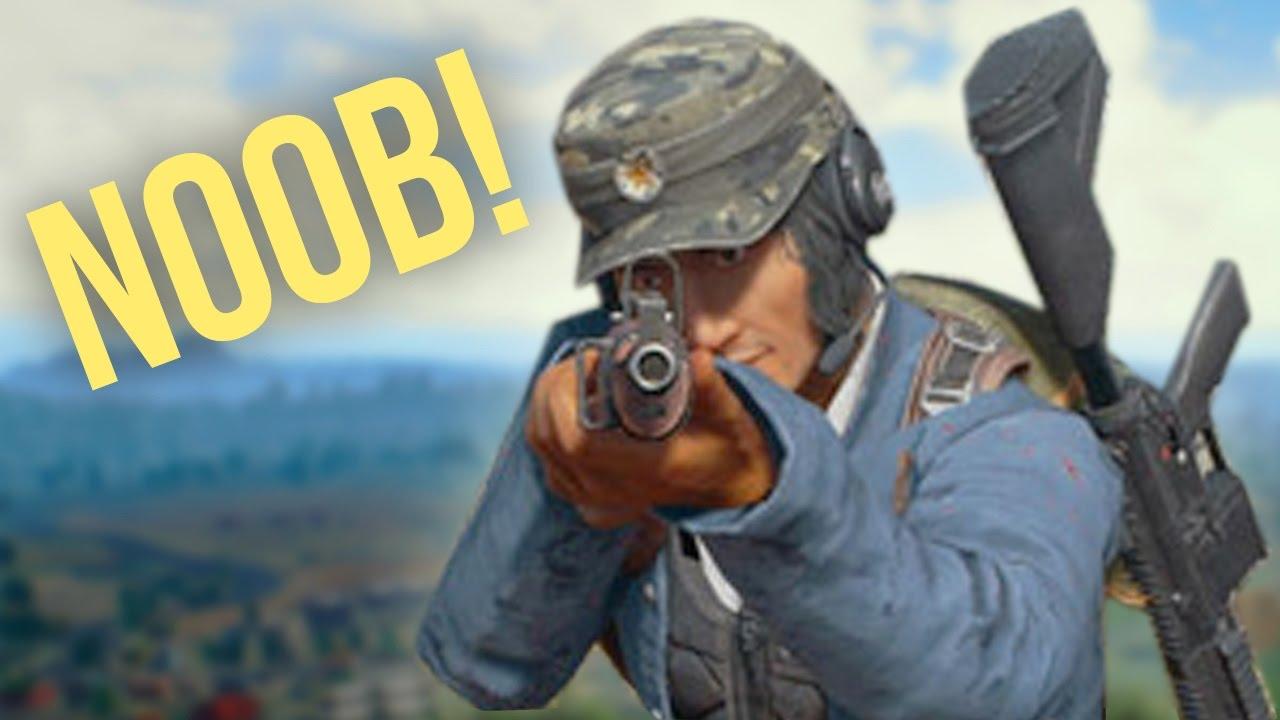 NOOB PLAYS PLAYERUNKNOWN'S BATTLEGROUNDS! - YouTube
