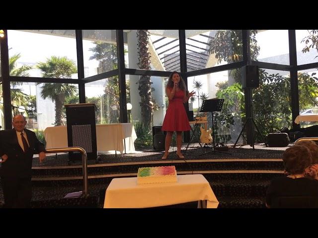 Maria Pellicano Singing