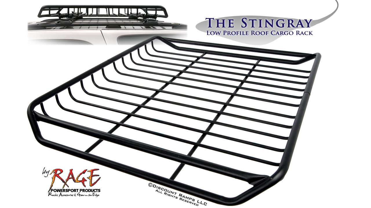 Low Profile Roof Cargo Rack
