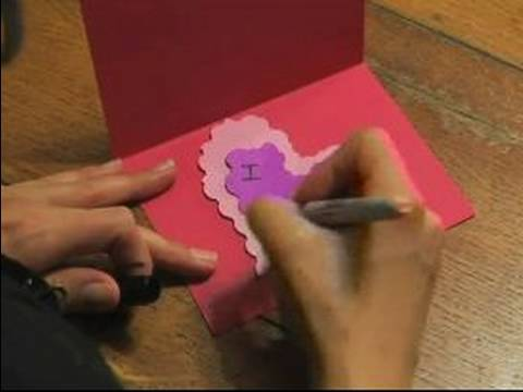 How to Make Valentines Day Gifts : How to Make a Valentines Day Card
