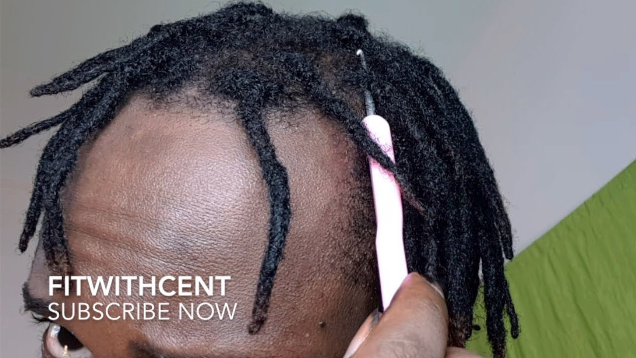 How To Get Instant Dreadlocks Using Crochet Hook Youtube