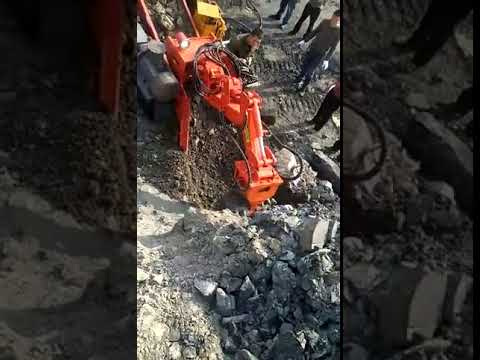 model 60 excavating loader, underground excavator,tunnel loader