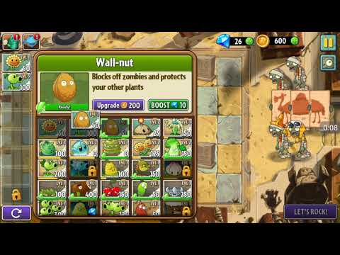 Plant vs.zombies||~ancient egypt||#day~6||