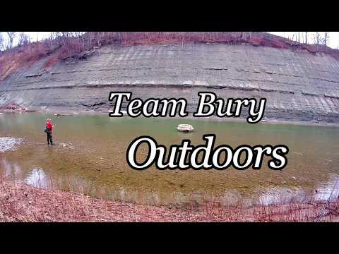 Stealhead Fishing Spawn Sacs Kwikfish On Rivers In Ohio Late Winter With Team Bury Outdoors
