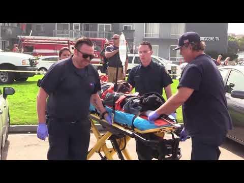 San Diego: Ocean Beach Truck Runs over Man 08262017