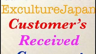 ExcultureJapan Customer's received real comment on Facebook part2