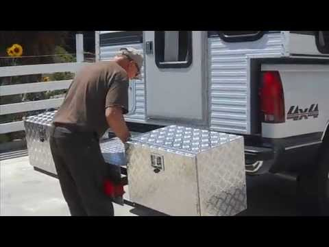 Build A Rv Camper Hitch Carrier Youtube