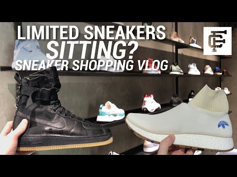 LIMITED ADIDAS BOOST AND NIKE SITTING & CHRIS ROCK!