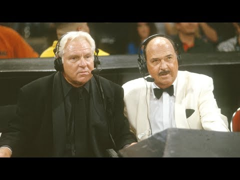 """Mean"" Gene Okerlund returns to WWE at WrestleMania X-Seven"
