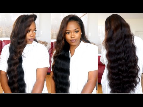 I Made A 30 Inch Wig With A Pre-customized Frontal(Watch How I made, Colored, & Styled It)