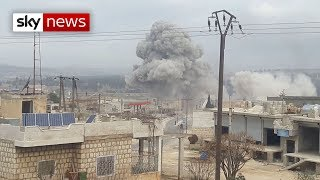 Exclusive: Syrian forces bomb hospitals in Idlib
