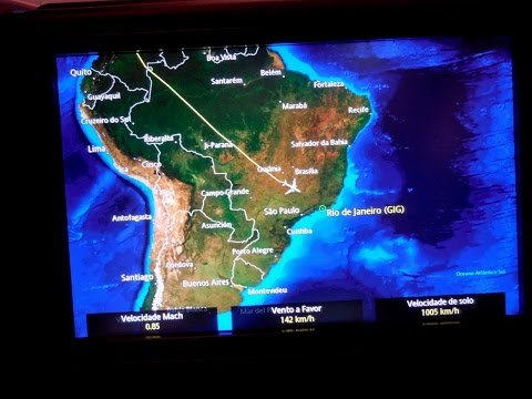 Flight 2 of 13 to and Around Brazil: United Airlines BusinessFirst B787-8 Dreamliner Houston-Rio