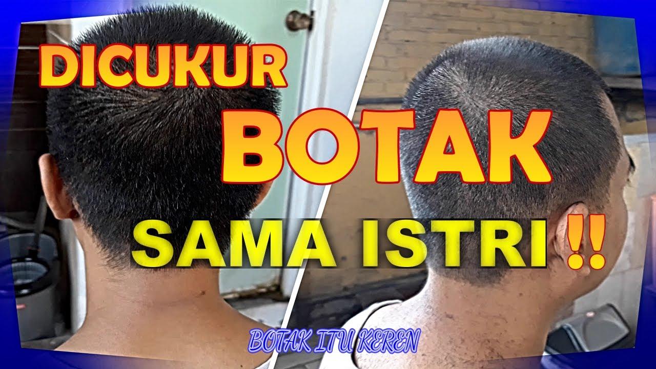 Cukur suami model Rambut BOTAK !! Botak Keren - YouTube
