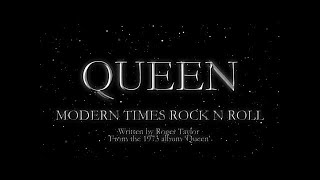 Queen - Modern Times Rock n Roll (Official Lyric Video)