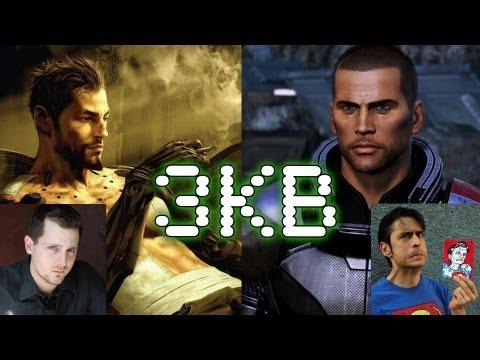 Adam Jensen & Commander Shepard Epic