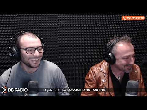 Massimiliano Iannino ospite a DB Social: puntata del 3 marzo