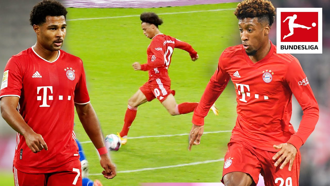 Bayern's World-Class Wingers: Sané, Gnabry, Coman & Douglas Costa