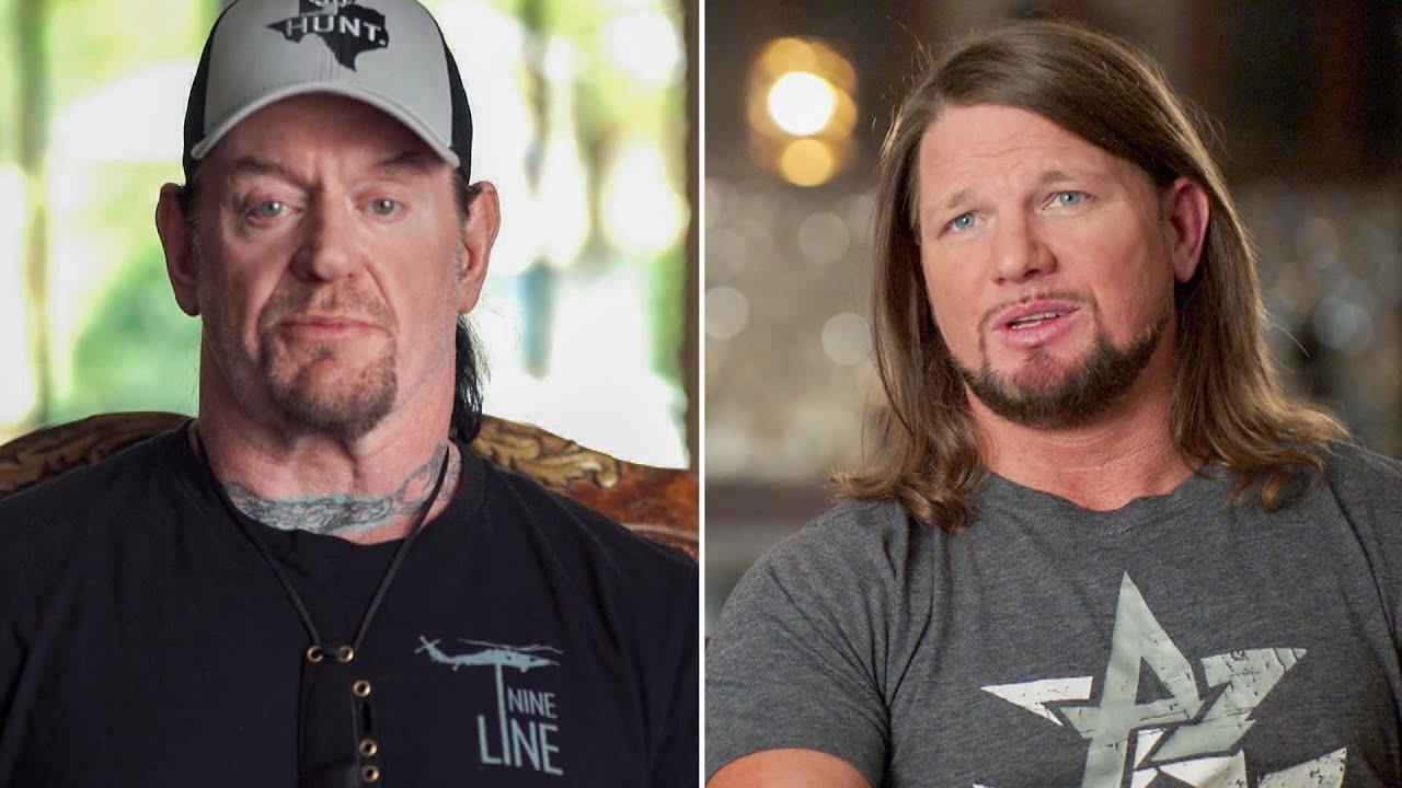 Download AJ Styles called Undertaker about possible WrestleMania match: Undertaker: The Last Ride sneak peek