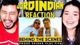 JordIndian | SMOKE SHISH PLAY FIFA | Behind The Scenes Vlog | Reaction | Jaby Koay