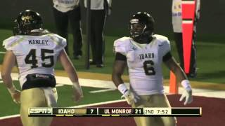 9/6/2014: Idaho vs UL Monroe Highlights