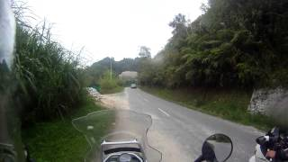 Riding to Boh Tea Centre at Ringlet, Cameron Highlands Part 1
