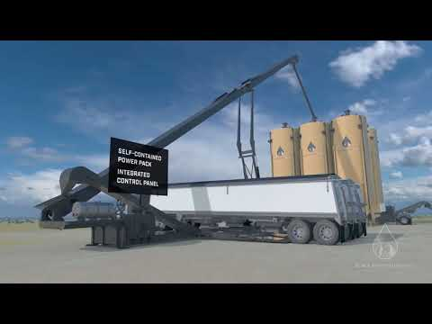 Last Mile Frac Sand Delivery Solution Of Black Mountain Sand