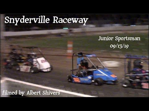 Snydersville Raceway - Junior Sportsman (09/13/19)