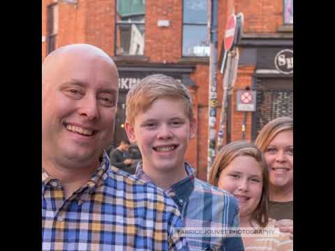 Fun Family photoshoot in iconic city of Dublin - Video