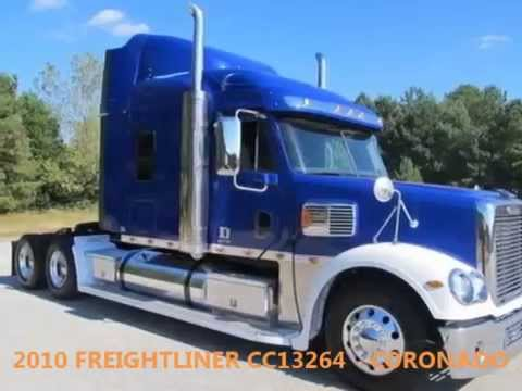 Freightliner Coronado For Sale >> Truck for sale: 2010 Freightliner CC13264 - Coronado - YouTube