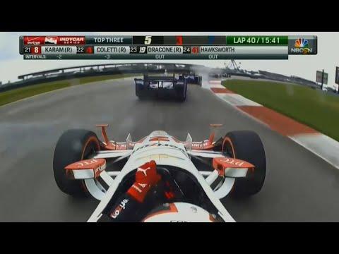 2015 IndyCar GP of Louisiana Juan Pablo Montoya Highlights