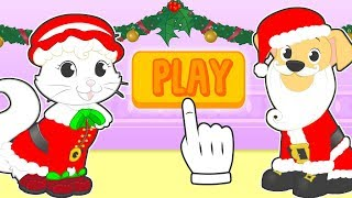 🤶 BABY PETS 🎅 Kira and Max Dress up as Santa Claus and Mrs Claus | Christmas Cartoons for Children