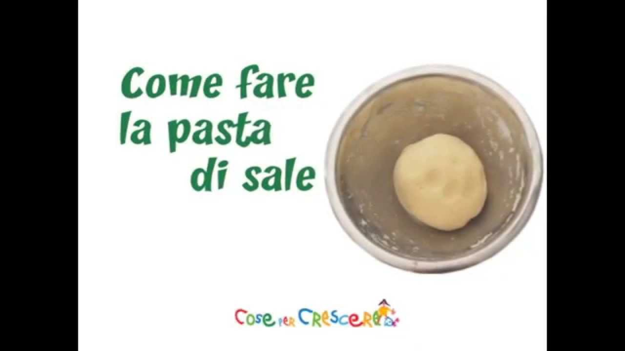 Come fare la pasta di sale - YouTube