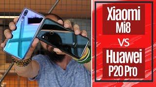 Huawei P20 Pro vs Xiaomi Mi 8 - Devler karşı karşıya!