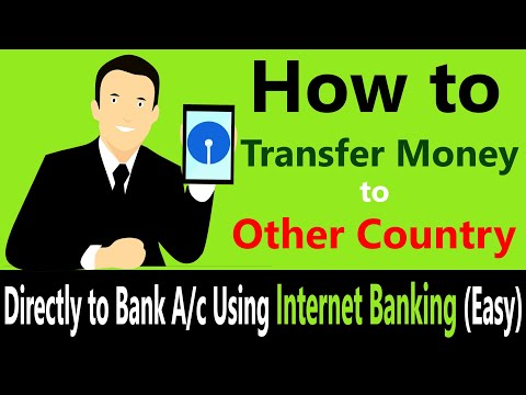 How To Send Money To Other Countries From India | Online Fund Transfer By Internet Banking