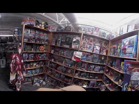 Toymeister Walkthrough VR, largest collection of vintage toys in Virginia Beach