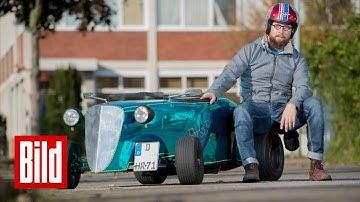 Die heißesten Seifenkisten NRWs - Sie nennen sich Mini-Hotrod