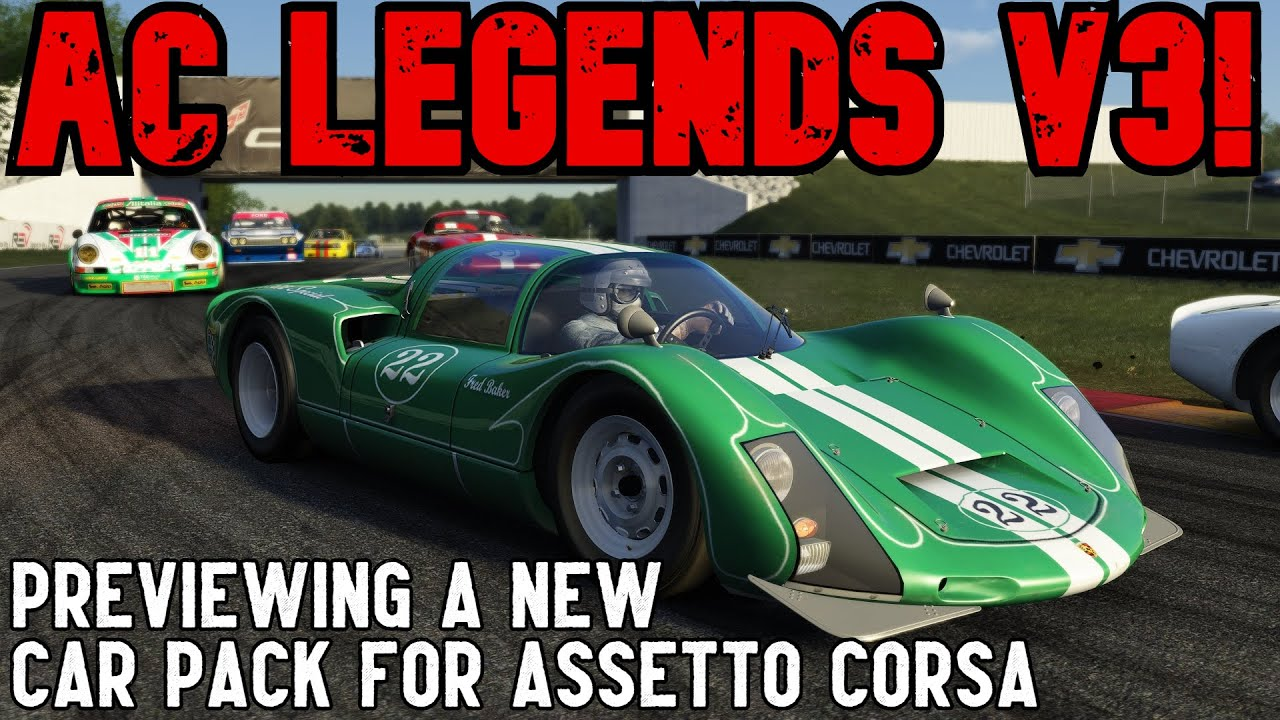 SimRacing604: Incredible Legends V3 Assetto Corsa mod