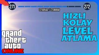 GTA Online - Efsane Hızlı AFK Level Atlama (PC/PS4/XB1)