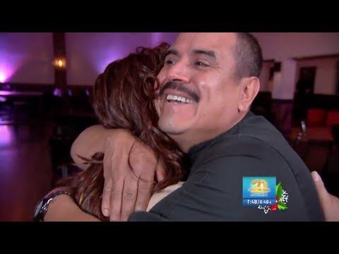 Despierta América le da buenas noticias a este padre y esposo inmigrante