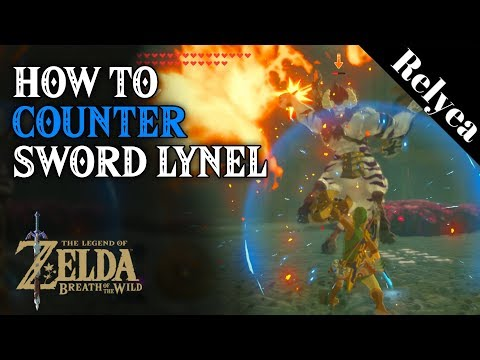 How to Easily Kill a Lynel Holding a Sword