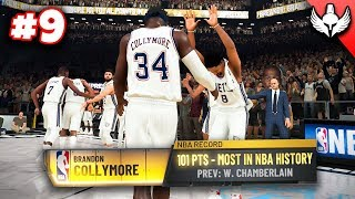 NBA 2K20 MyCAREER #9 - BREAKING WILT CHAMBERLAINS CRAZY RECORD!!