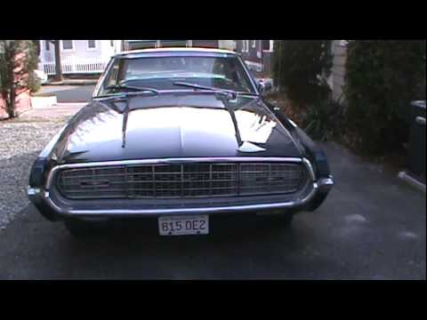 Ford Thunderbird 1968 Youtube