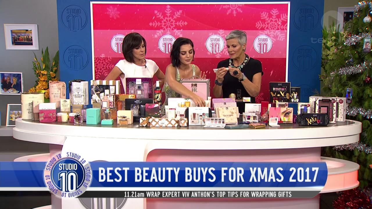 Best Christmas Beauty Buys w/ Domenica Calarco   Studio 10