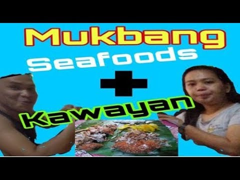 mukbang with kawayan