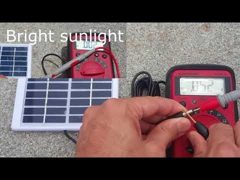 Solar light panel upgrade