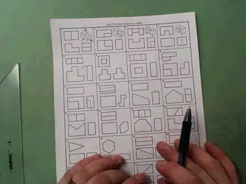 Drawing Lines Worksheet : Missing lines worksheet youtube
