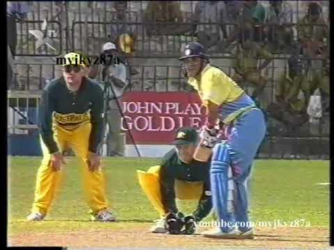 Sachin Tendulkar 110 Off 130 Balls - FIRST ONE DAY CENTURY - Vs Australia At Colombo 1994